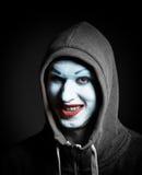 Τρομακτικό mime Στοκ Φωτογραφίες