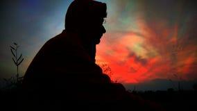 Τρομερός νυχτερινός ουρανός Στοκ φωτογραφία με δικαίωμα ελεύθερης χρήσης
