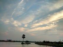 τρομερός ουρανός Στοκ Εικόνα