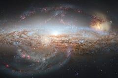 Τρομερός του βαθιού διαστήματος Δισεκατομμύρια των γαλαξιών στον κόσμο απεικόνιση αποθεμάτων