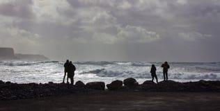 Τρομερό ατλαντικό αεράκι Στοκ Εικόνα