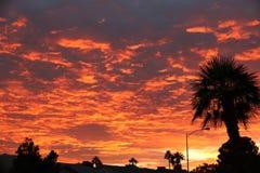 τρομερό ηλιοβασίλεμα στοκ εικόνα με δικαίωμα ελεύθερης χρήσης