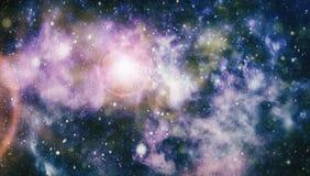 Τρομερό νεφέλωμα στο βαθύ διάστημα Γαλαξίας και νεφέλωμα abstract background space Στοκ φωτογραφία με δικαίωμα ελεύθερης χρήσης
