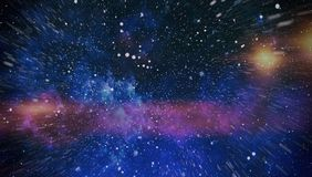 Τρομερό νεφέλωμα στο βαθύ διάστημα Γαλαξίας και νεφέλωμα abstract background space Στοκ εικόνες με δικαίωμα ελεύθερης χρήσης