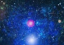 Τρομερό νεφέλωμα στο βαθύ διάστημα Γαλαξίας και νεφέλωμα abstract background space Στοκ Φωτογραφία
