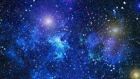 Τρομερό νεφέλωμα στο βαθύ διάστημα Γαλαξίας και νεφέλωμα abstract background space Στοκ εικόνα με δικαίωμα ελεύθερης χρήσης