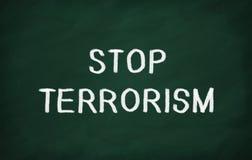 Τρομοκρατία στάσεων ελεύθερη απεικόνιση δικαιώματος