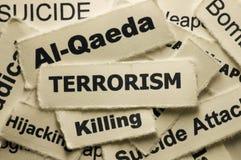 τρομοκρατία Στοκ Εικόνες