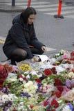 ΤΡΟΜΟΣ ΠΟΥ ΕΠΙΤΙΘΕΤΑΙ ΣΕ PARIS_COPENHAGEN ΔΑΝΊΑ Στοκ εικόνα με δικαίωμα ελεύθερης χρήσης