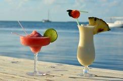 Τροπικά ποτά στοκ εικόνα με δικαίωμα ελεύθερης χρήσης