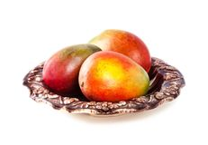 Τροπικά φρούτα μάγκο Στοκ φωτογραφία με δικαίωμα ελεύθερης χρήσης