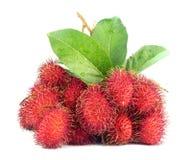 Τροπικά φρούτα Rambutan στοκ εικόνες