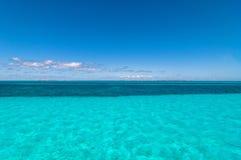Τροπικές θάλασσα και ακτή της Isla Mujeres, Μεξικό Στοκ φωτογραφία με δικαίωμα ελεύθερης χρήσης