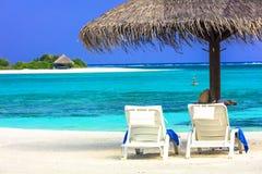 Τροπικές διακοπές - Μαλδίβες στοκ φωτογραφία