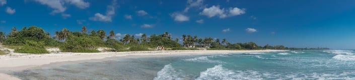 Τροπική άποψη παραλιών από Playa Giron, Κούβα στοκ εικόνα με δικαίωμα ελεύθερης χρήσης