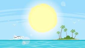 Τροπική ακροθαλασσιά νησιών στοκ εικόνα με δικαίωμα ελεύθερης χρήσης
