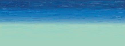 Τροπική θάλασσα, διάνυσμα Στοκ εικόνες με δικαίωμα ελεύθερης χρήσης