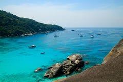 Τροπική θάλασσα στο νησί Similan στοκ εικόνες