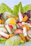 Τροπική θερινή σαλάτα Στοκ Εικόνες