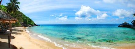 Τροπική μαλαισιανή παραλία Στοκ Φωτογραφία