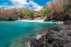 Τροπική παραλία στοκ φωτογραφίες με δικαίωμα ελεύθερης χρήσης