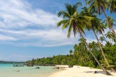 Τροπική παραλία AO Noi Ταϊλάνδη Στοκ φωτογραφία με δικαίωμα ελεύθερης χρήσης