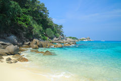 Τροπική παραλία στο νησί Similan στοκ εικόνες