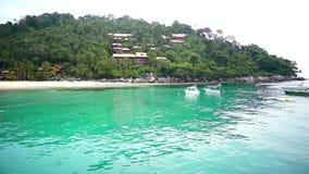 Τροπική παραλία στο νησί Tioman φιλμ μικρού μήκους