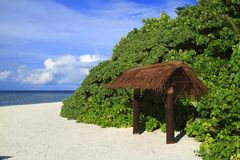 Τροπική παραλία Στοκ φωτογραφία με δικαίωμα ελεύθερης χρήσης