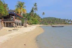 Τροπική παραλία, Koh Samui, Ταϊλάνδη Στοκ Εικόνες