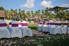 τροπικός γάμος Στοκ φωτογραφίες με δικαίωμα ελεύθερης χρήσης