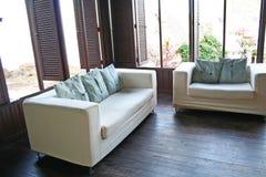 Τροπικός καναπές Στοκ Φωτογραφία