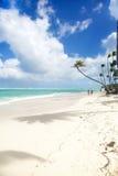 Τροπικός παράδεισος - άσπρη παραλία άμμων Στοκ εικόνα με δικαίωμα ελεύθερης χρήσης