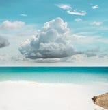 Τροπικός παράδεισος ουρανού στοκ φωτογραφία