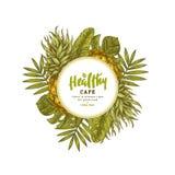 Τροπικό εκλεκτής ποιότητας πρότυπο σχεδίου ανανά Βοτανικά φρούτα Χαραγμένος ανανάς επίσης corel σύρετε το διάνυσμα απεικόνισης ελεύθερη απεικόνιση δικαιώματος