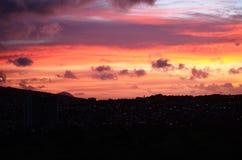 Τροπικό ηλιοβασίλεμα στοκ εικόνα με δικαίωμα ελεύθερης χρήσης