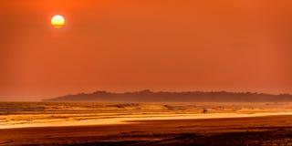 Τροπικό ηλιοβασίλεμα Στοκ Εικόνες