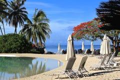 Τροπικό θέρετρο Ταϊτή Στοκ φωτογραφίες με δικαίωμα ελεύθερης χρήσης