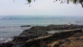τροπικό διάνυσμα απεικόνισης της Χαβάης παραλιών Στοκ εικόνα με δικαίωμα ελεύθερης χρήσης