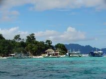 Τροπικό νησί παραδείσου, Coron, Φιλιππίνες στοκ φωτογραφίες