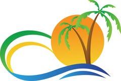 Τροπικό νησί ελεύθερη απεικόνιση δικαιώματος