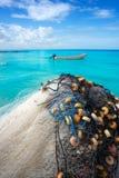 Τροπικό νησί Holbox σε Quintana Roo Μεξικό στοκ φωτογραφία με δικαίωμα ελεύθερης χρήσης