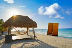 Τροπικό νησί Holbox σε Quintana Roo Μεξικό στοκ φωτογραφίες με δικαίωμα ελεύθερης χρήσης