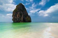 Τροπικό τοπίο παραλιών. Ταϊλάνδη Στοκ φωτογραφίες με δικαίωμα ελεύθερης χρήσης
