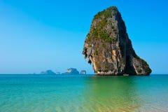 Τροπικό τοπίο παραλιών. Ταϊλάνδη Στοκ Εικόνες