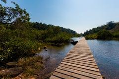 Τροπικό τοπίο Koh Kood Στοκ φωτογραφίες με δικαίωμα ελεύθερης χρήσης