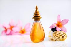 Τροπικό wellness spa & aromatherapy έννοια Στοκ εικόνα με δικαίωμα ελεύθερης χρήσης