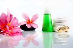 Τροπικό wellness spa & aromatherapy έννοια Στοκ φωτογραφίες με δικαίωμα ελεύθερης χρήσης