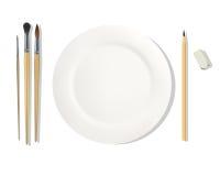 Τροφές επαγγέλματος ζωγράφος Στοκ Εικόνα