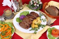 τροφή γευμάτων Στοκ Φωτογραφίες